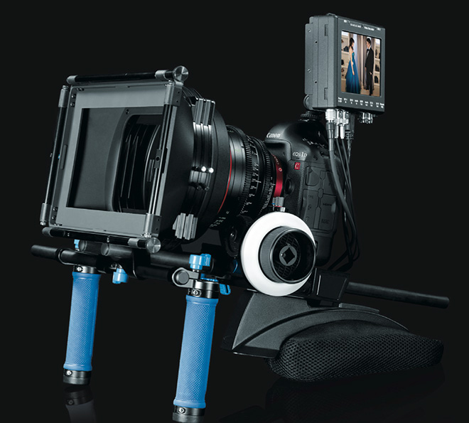 Canon 1D C rig
