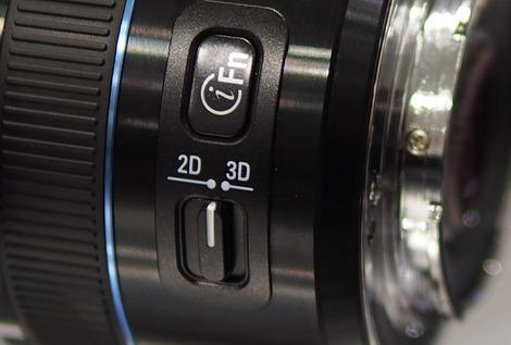 Samsung 3D lens