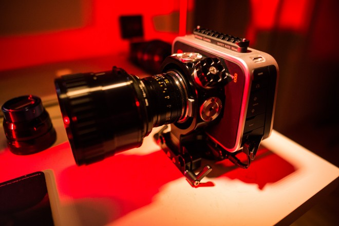 Blackmagic Cinema Camera - anamorphic rig