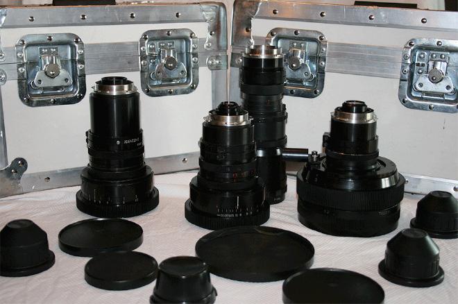 Lomo anamorphic lenses