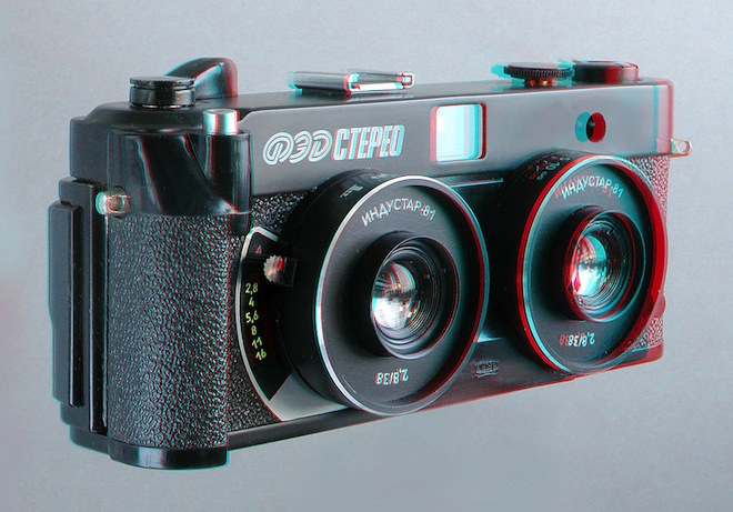 Retro stereoscopic camera