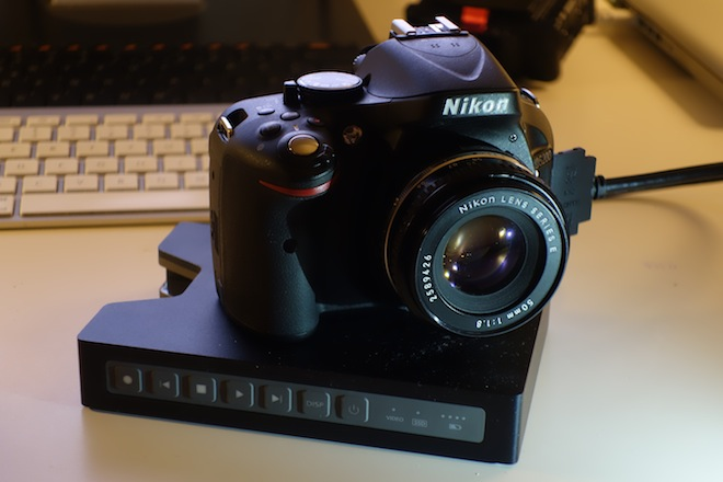 Nikon D5200 and Blackmagic HyperDeck Shuttle HDMI recorder