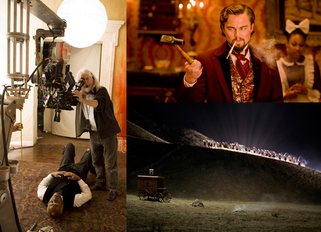 Django Unchained -  Richardson & Dicaprio