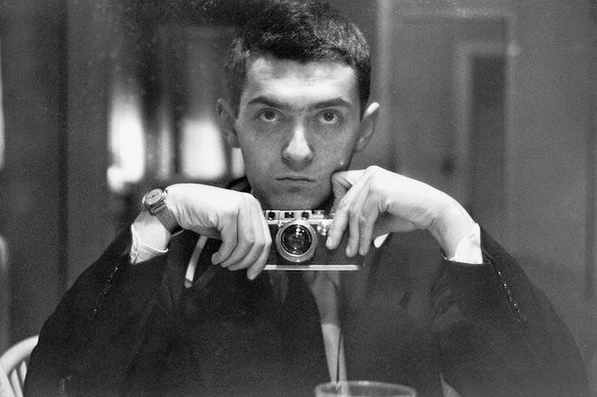 Young Kubrick self portrait