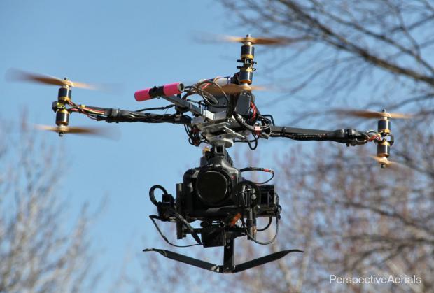 Canon 1D C drone