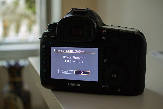 Canon 5D Mark III uncompressed HDMI firmware update v1 2 1