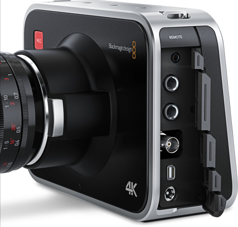Blackmagic Production Camera connections