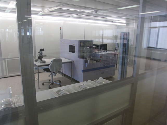 CMOSIS cleanroom