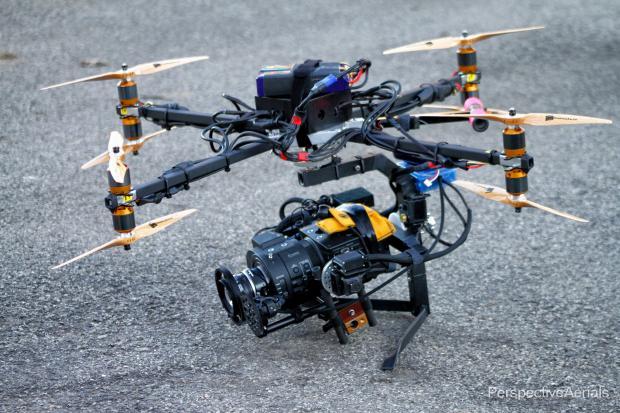 Sony FS700 drone