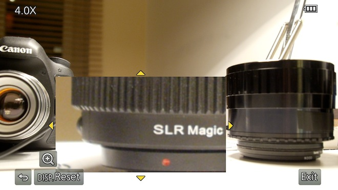 GH3 magic window focus assist