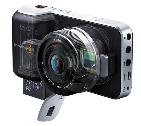 Blackmagic pocket cinema camera x-ray