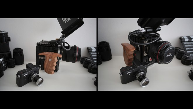 Red Epic and Nikon V1