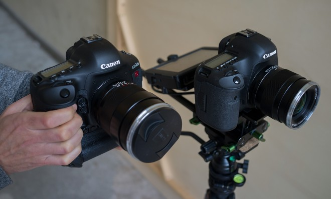 5D Mark III and 1D C