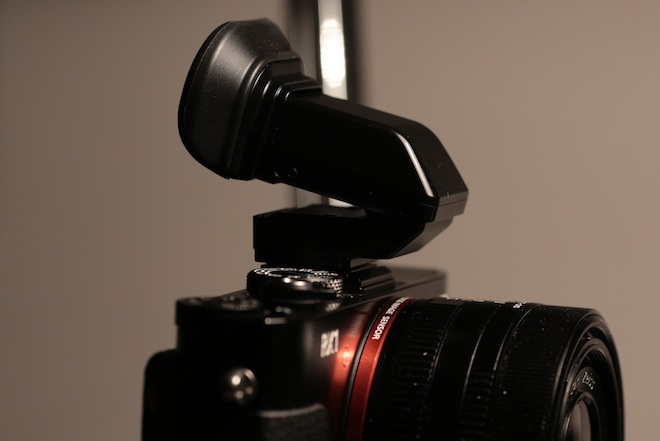 RX1 EVF TruFinder attachment