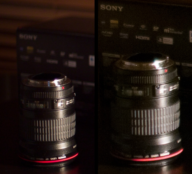 5D Mark III vs BMCC low light