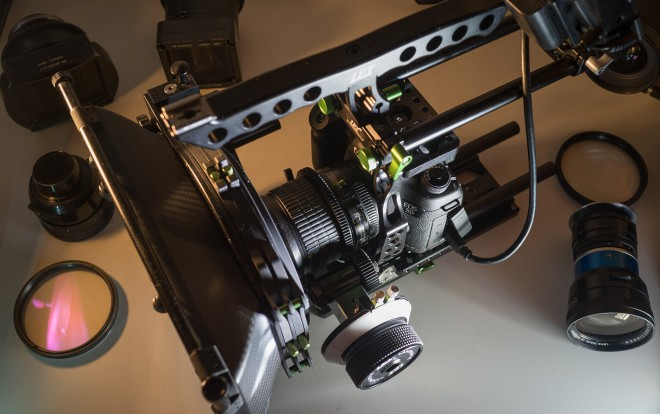 Rig and lenses - 5D Mark III Raw Shooter's Guide