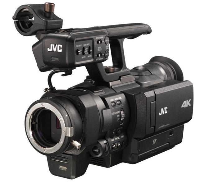 JVC 4K Nikon mount camera