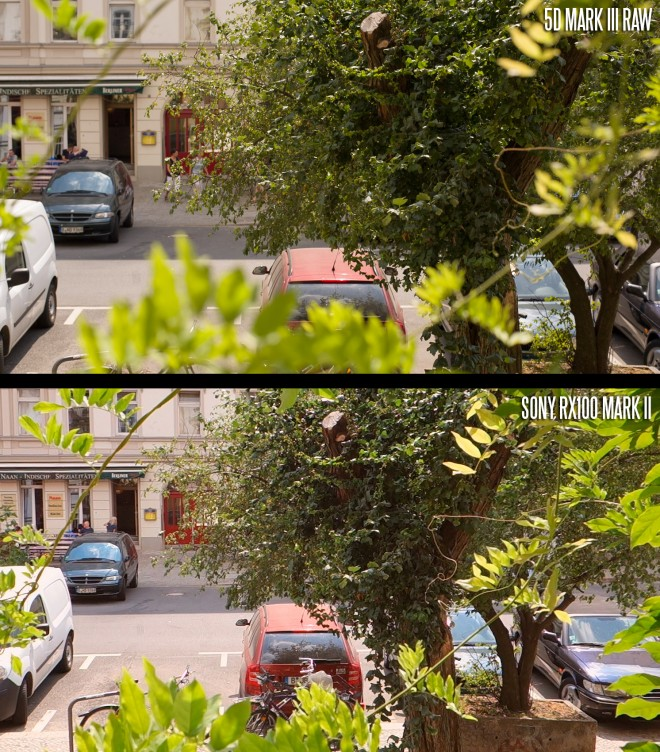 5D Mark III raw video vs RX100 Mark II AVCHD
