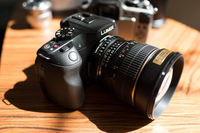 G6 with Metabones Speed Booster (Nikon mount)