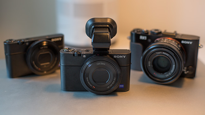 Sony RX100 Mark II, RX100 and RX1