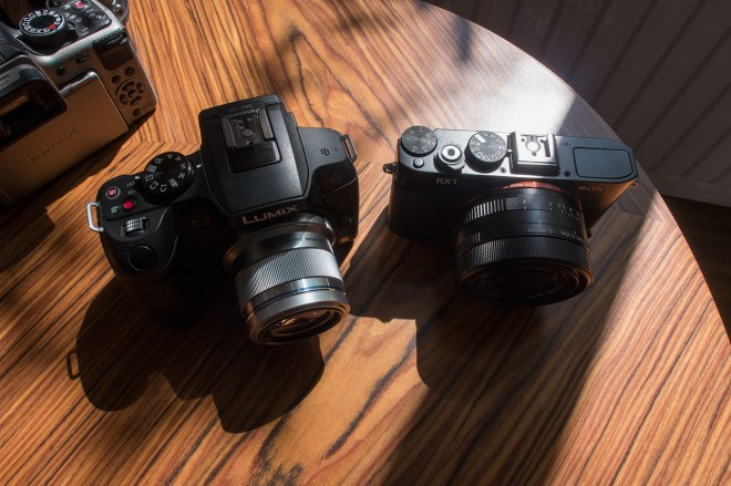 G6 and the full frame beastie - Sony RX1