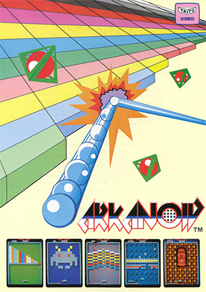 Arkanoid_arcadeflyer