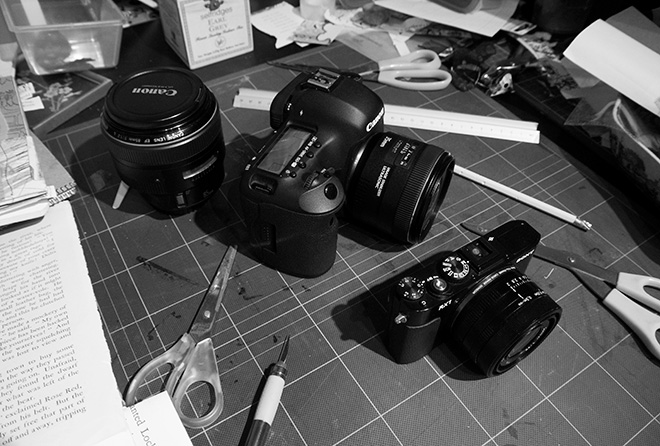 Canon 5D Mark III and Sony RX1
