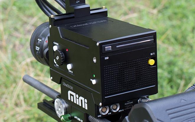 KineRAW Mini control panel