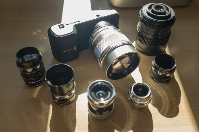 Blackmagic Pocket Cinema Camera and c-mount lenses