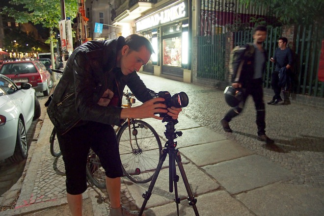 Andrew Reid shooting with the SLR Magic anamorphic prototype lens V3