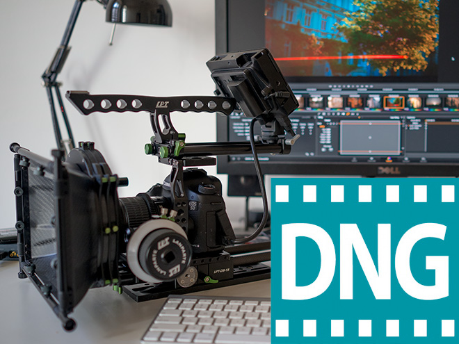Adobe Cinema DNG - Premiere CC - 5D Mark III Magic Lantern raw