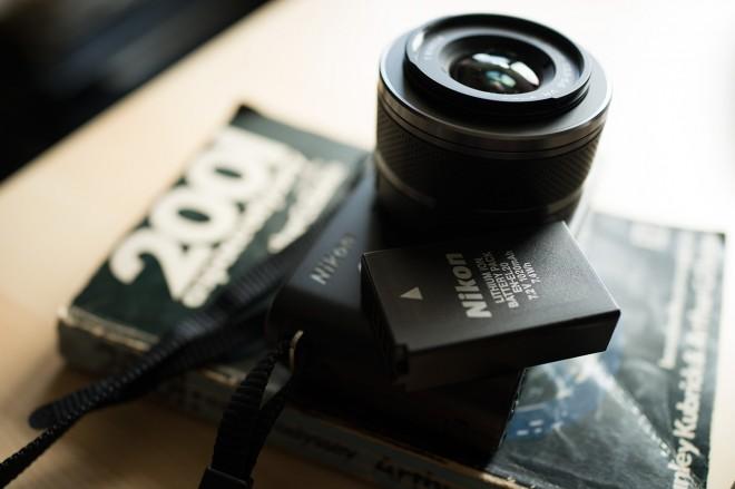 Nikon J1 battery for Blackmagic Pocket Camera