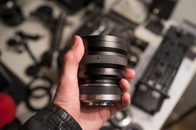 SLR Magic Anamorphic Prototype V3 on Lumix 20mm