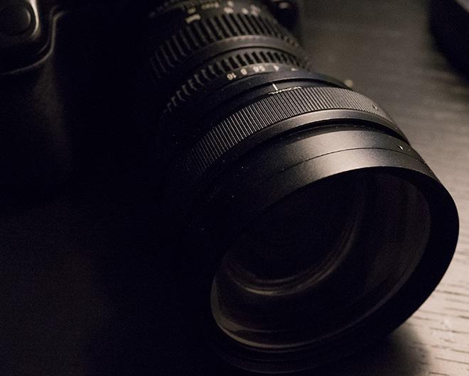 SLR Magic anamorphic lens