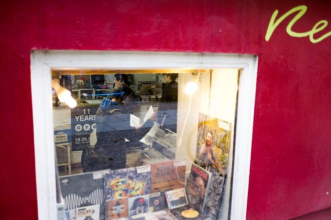 X100S - record shop