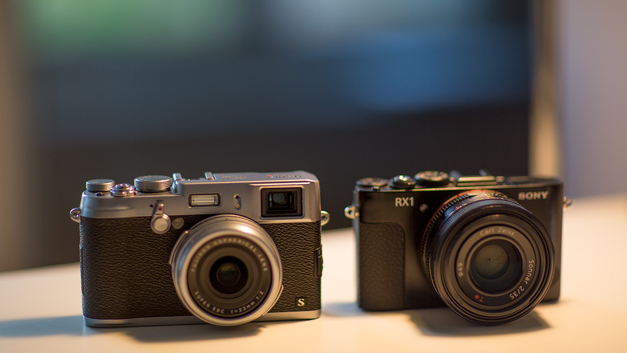 Fuji X100S vs Sony RX1