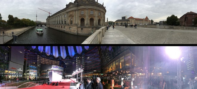 iPhone 5S panoramas