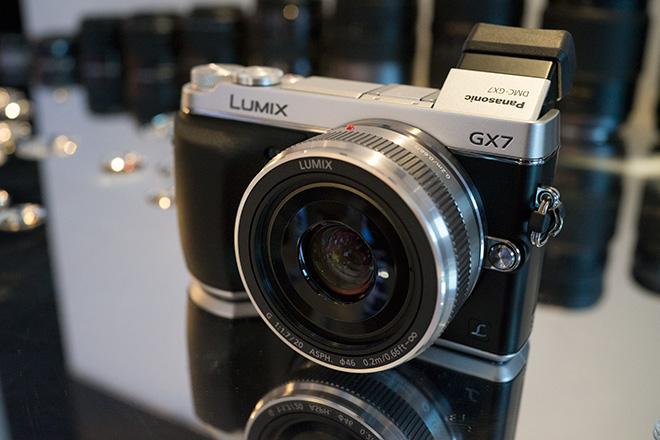 Panasonic GX7 at IFA 2013