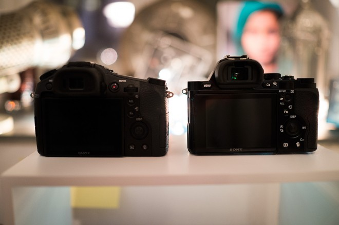 RX10 and A7R rear screen view