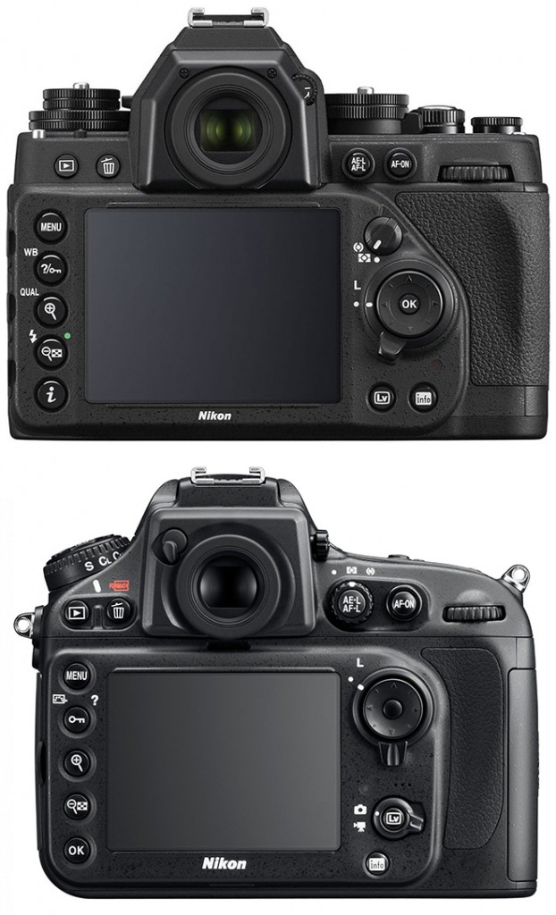 Nikon Df vs D800