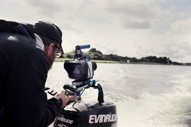 Shane Meadows - Jake Bugg shoot on Blackmagic - boat
