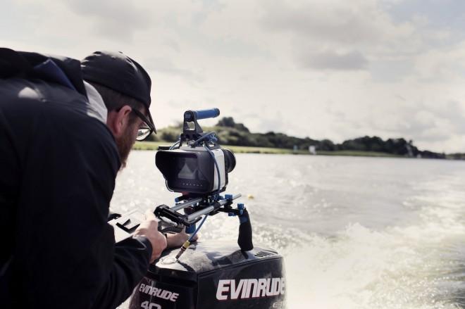 Shane Meadows - Jake Bugg shoot on Blackmagic - boat