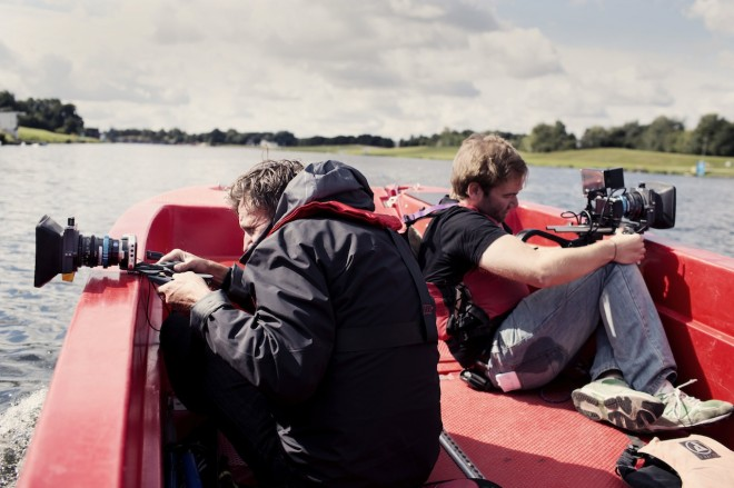 Shane Meadows - Jake Bugg shoot on Blackmagic - boat 2