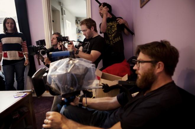 Shane Meadows - Jake Bugg shoot on Blackmagic - music video