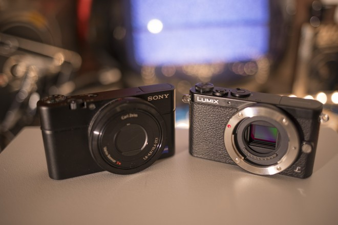 RX100 M2 and GM1