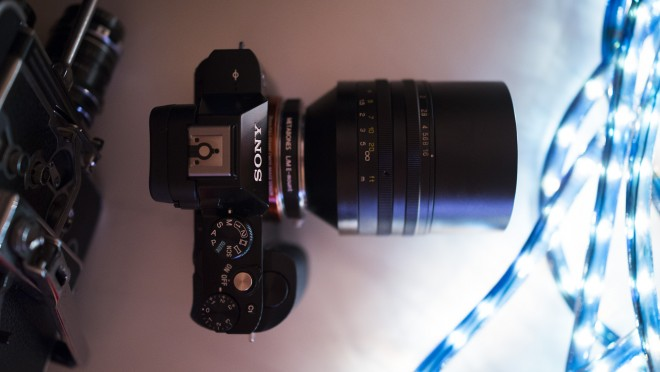 Sony A7R and SLR Magic HyperPrime 50mm T0.95