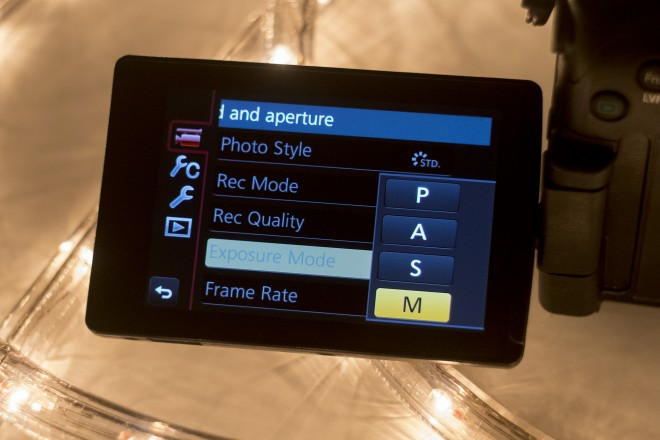 GH3 guide - manual video control