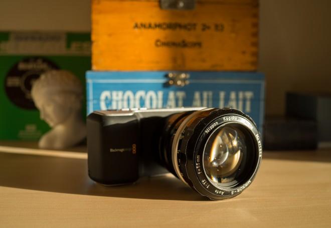 BMPCC Nikon 55mm F1.2 Pre-AI
