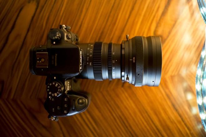 SLR Magic Anamorphot 50 on the Panasonic GH3
