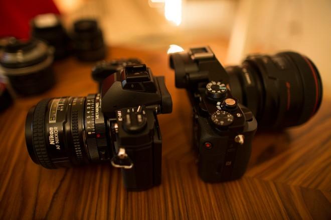 E-M1 vs A7R